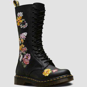 Dr. Martens VONDA II Floral Leather Boots